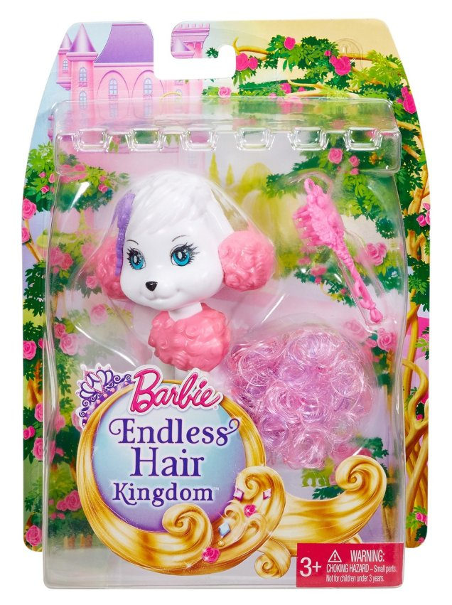 Barbie Endless Hair Kingdom Dog NRFB