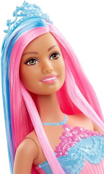 Barbie Endless Hair Kingdom Princess Doll, Blue face