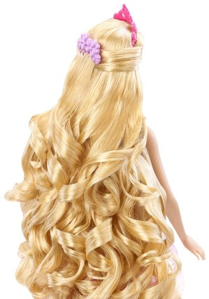 Barbie Endless Hair Kingdom Princess Doll, Pink back