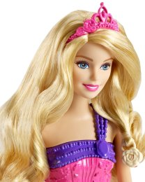 Barbie Endless Hair Kingdom Princess Doll, Pink face