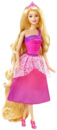 Barbie Endless Hair Kingdom Princess Doll, Pink flyer