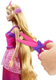 Barbie Endless Hair Kingdom Princess Doll, Pink side