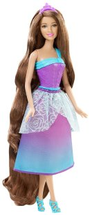 Barbie Endless Hair Kingdom Princess Doll, Purple flyer
