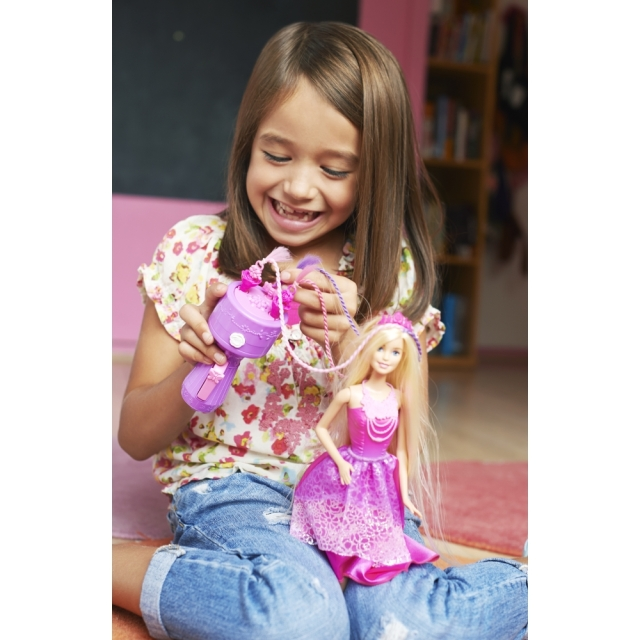 Barbie Endless Hair Kingdom Snap 'n Style Princess