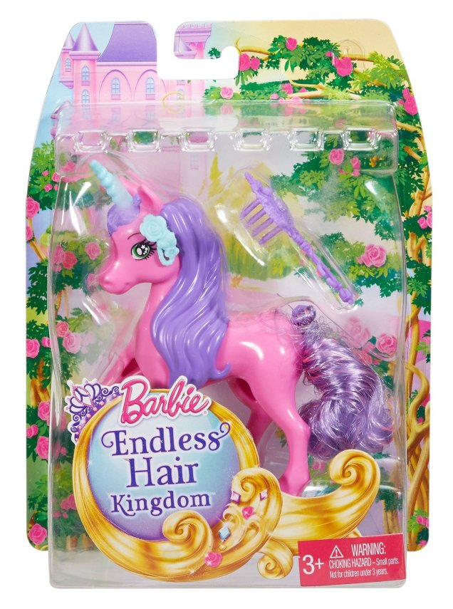 Barbie Endless Hair Kingdom Unicorn nrfb