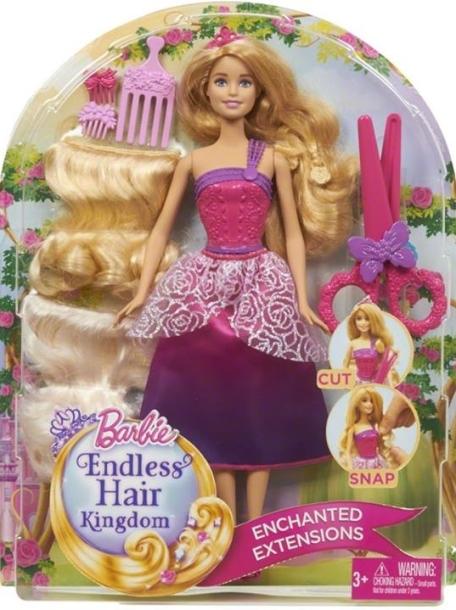 Barbie Ensless Hair Blonde