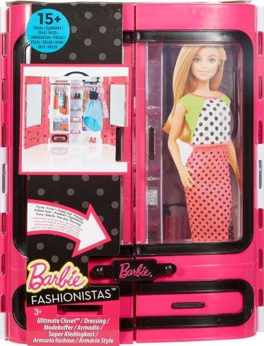 Barbie Fab Closet NRFB