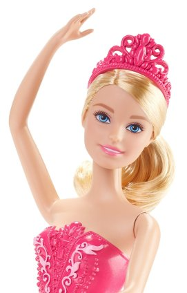 Barbie Fairytale Ballerina Doll, Pink Fce