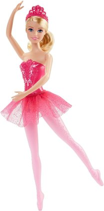 Barbie Fairytale Ballerina Doll, Pink1