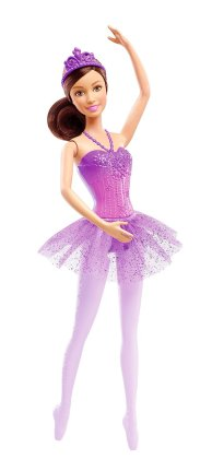 Barbie Fairytale Ballerina Doll, Purple