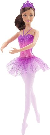 Barbie Fairytale Ballerina Doll, Purple1