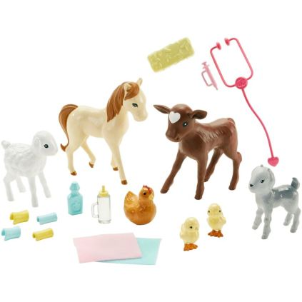 Barbie Farm Vet Doll and Playset complete