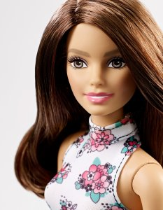 Barbie Fashion Mix 'N Match Doll, Brunette face