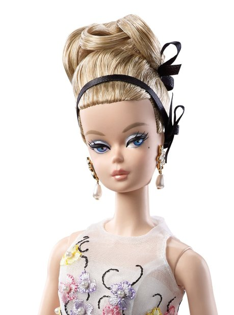Barbie Fashion Model Collection Doll, Glam Gown face