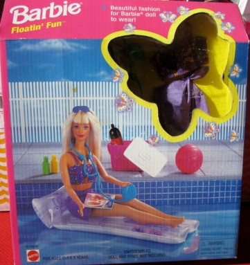 Barbie floatin' fun set
