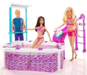 Barbie Glam Beach Pool f