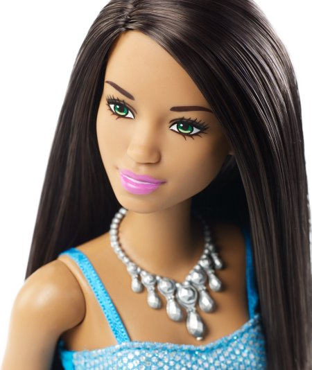 Barbie Glitz Doll face