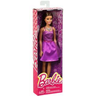 Barbie Glitz Doll Purple Dress NRFB