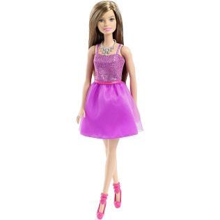 Barbie Glitz Doll Purple Dress
