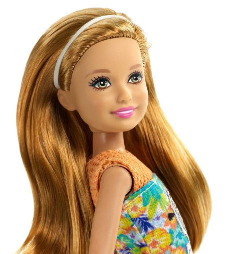Barbie Great Puppy Adventure Stacie Doll face