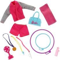 Barbie Gymnastic Coach Dolls & Playset acc