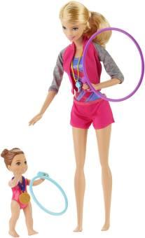 Barbie Gymnastic Coach Dolls & Playset dolls