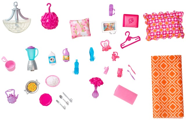 Barbie Hello Dreamhouse acc