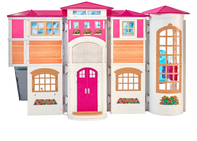 Barbie Hello Dreamhouse front