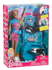 Barbie I Can Be… Sea World Trainer n