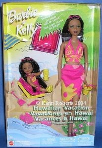 Barbie & Kelly Hawaiian Vacation Gift Set aa
