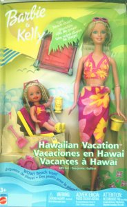 Barbie & Kelly Hawaiian Vacation Gift Set