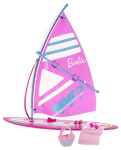 Barbie Let's Go Windsurf! Accessory Pack flyer