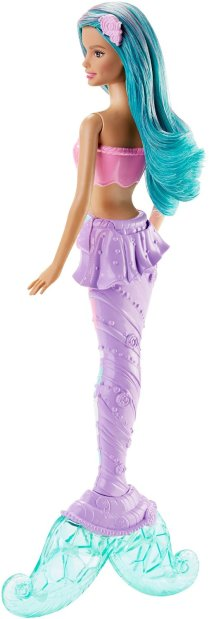 Barbie Mermaid Doll, Candy Fashion back