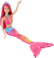 Barbie Mermaid Doll, Rainbow Fashion1