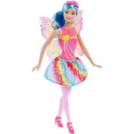 Barbie Mix and Match - Fairy Fada - Rosa