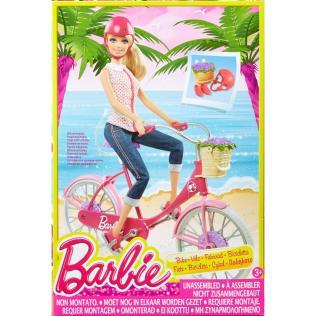 Barbie On The Go Biking pack