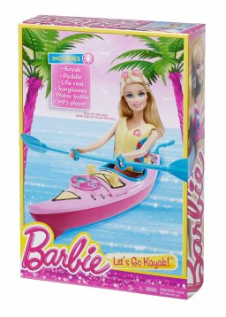 Barbie On The Go Kayak Accessory Pack NRFB