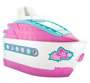 Barbie Party Cruise Ship out of box