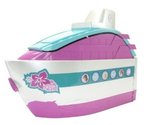 Barbie Party Cruise Ship side