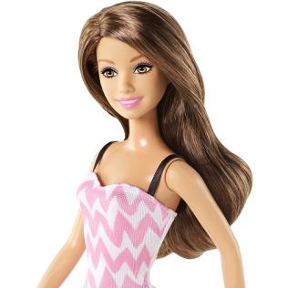 Barbie - Pink & White Sundress Face