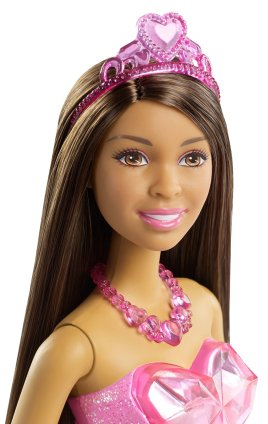 Barbie Princess Doll, African-American Gem Fashion face