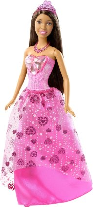 Barbie Princess Doll, African-American Gem Fashion