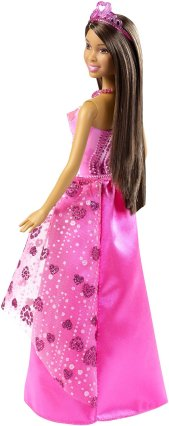 Barbie Princess Doll, African-American Gem Fashion1