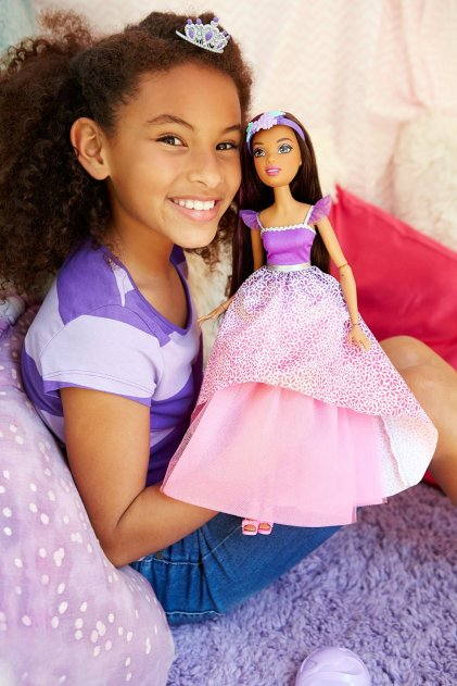 Barbie Princess Doll - Brunette poster