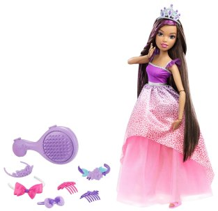 Barbie Princess Doll - Brunette