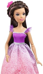 Barbie Princess Doll - Brunette3