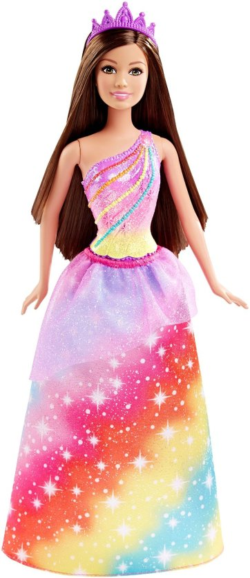 Barbie Princess Doll, Rainbow Fashion