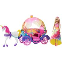 Barbie Princess, Horse and Carriage flyer