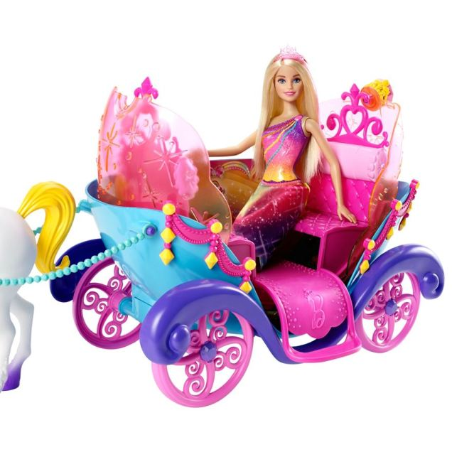 Barbie Princess, Horse and Carriage flyer2