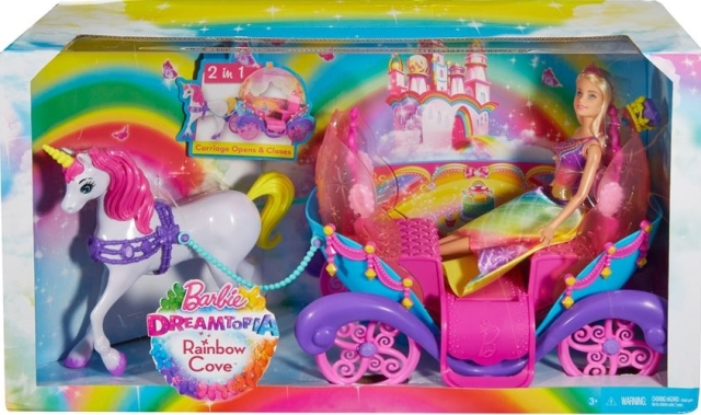 Barbie Princess, Horse and Carriage NRFB